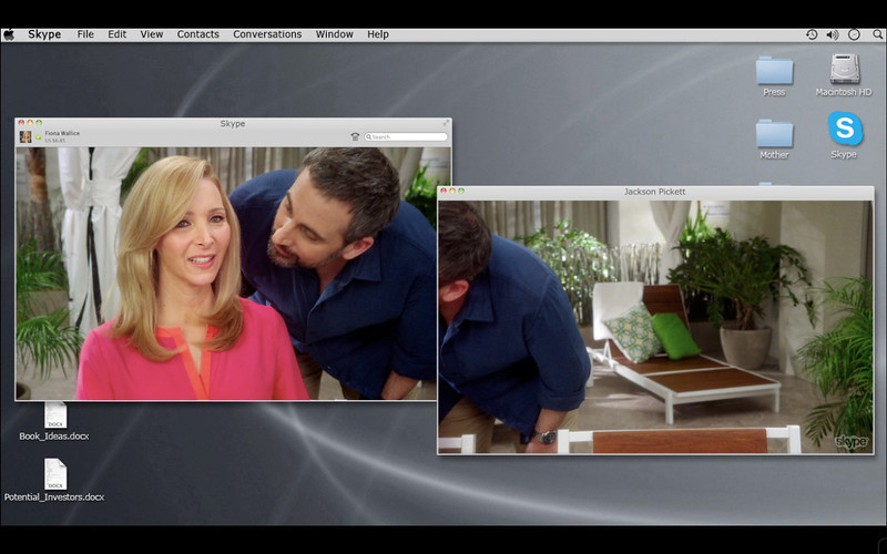 . Lisa Kudrow as Fiona Wallice and Steve Carell as Jackson Pickett in Web Therapy (Season 3, Episode 01) - Photo:  Courtesy of SHOWTIME