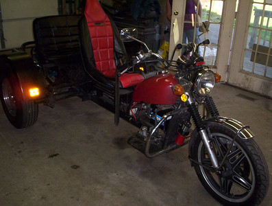 Custom Trike 1600cc Repair Work