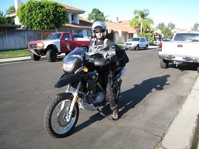 Eastern Sierra Solo Motorcycle Trip 2007
