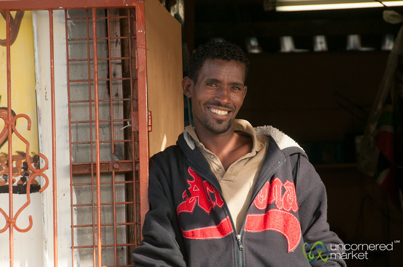 South African Man - Masiphumelele, Cape Town