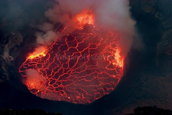 Nyiragongo volcano, DR Congo