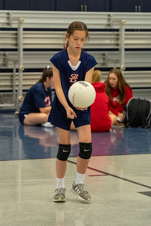 2019 SGS vs St. Bernard Volleyball (7th grade)