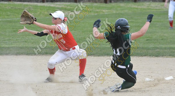 Mansfield - North Attleboro Softball 4-25-16