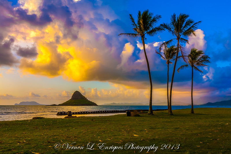 Kualoa Regional Park, North Shore, Oahu Hawaii