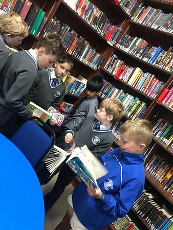 Senior School Library Visit