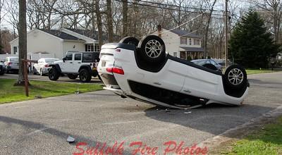 Brookhaven FD  Overturned Jeep [4.12.17]