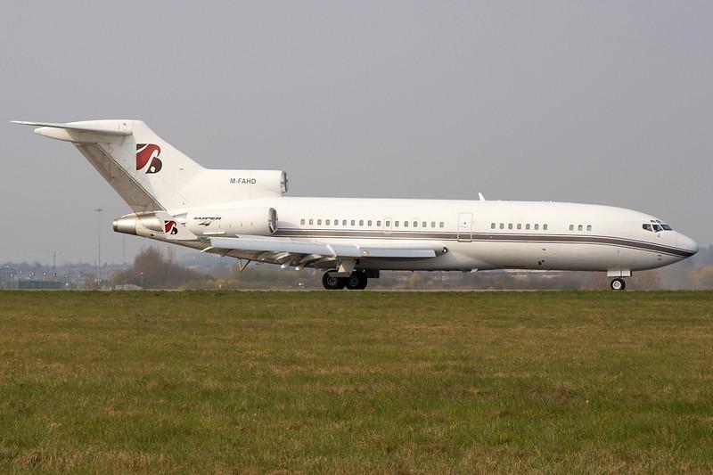 Boeing 727-76(RE) Super-27 cn 19254/298 M-FAHD