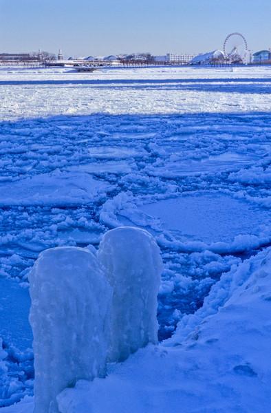 Lakefront in Winter