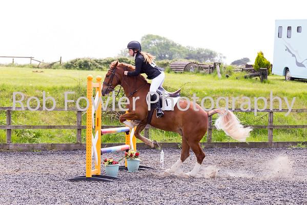 Josie Parry riding Tally