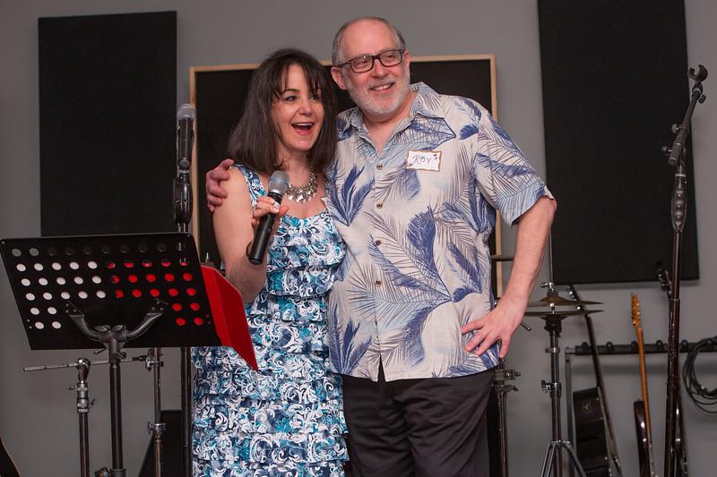 Linda Glazerman Roeder Roy Braverman When I'm 64 Birthday Party