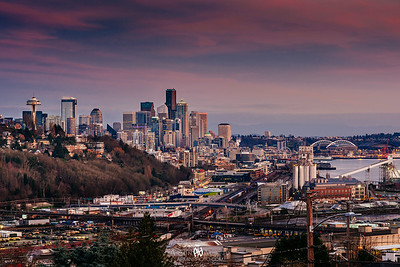 Seattle February 2018