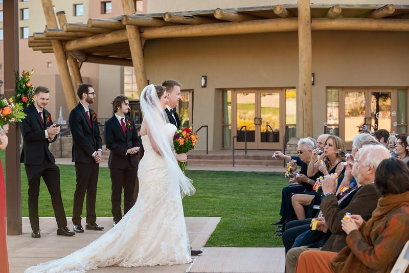 Sandia Hotel Casino New Mexico October Wedding Ceremony C&C-101.jpg