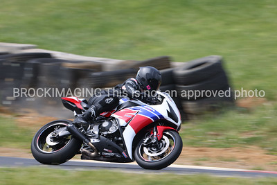 Hond CBR REd white and Blue
