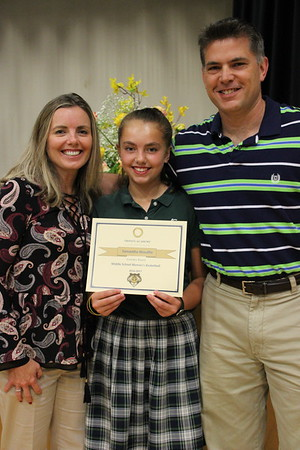 Middle School Academic/Athletic Awards