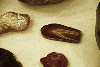 2016 09 04: Agate Museum, Rocks, Moose Lake (MN, US) State Park