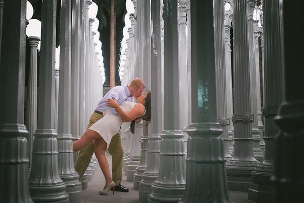 Eric + Jess Los Angeles Egagement Session