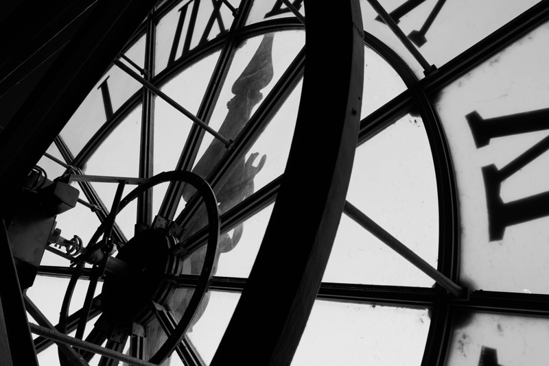 Mused d'Orsay Clock on Seine