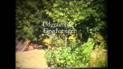 Udgravning i Fjordvænget