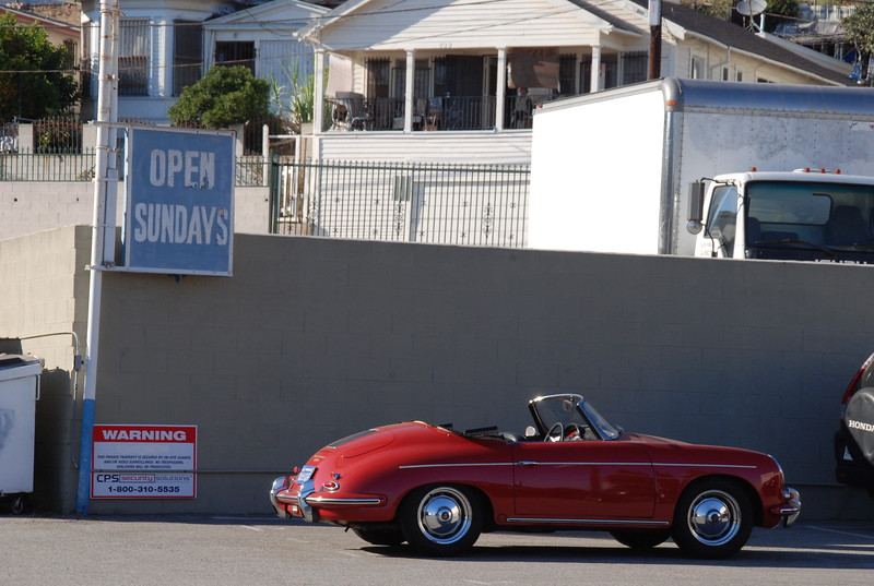 2010, Red Car and Old Sign