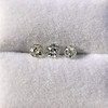 1.54ctw Antique Cushion Cut 3-stone Suite 8