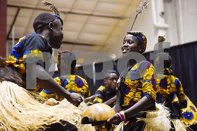 10/4/17 Parental Care Ministries Uganda Choir at Texas College by Chelsea Purgahn