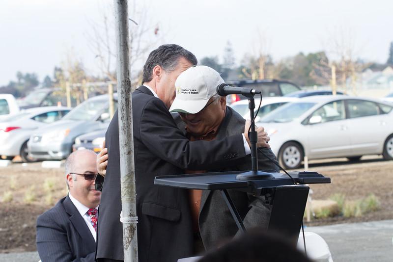 Mike Honda, Congressman and Mike Wasserman