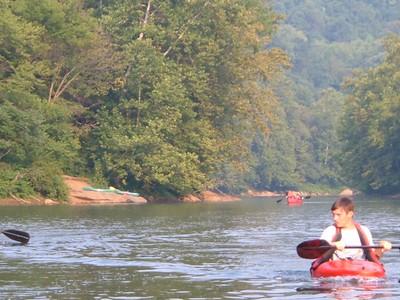Yough River Canoe Trip! 2005