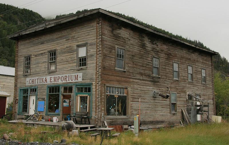 Time stood still in little Chitina, Alaska.