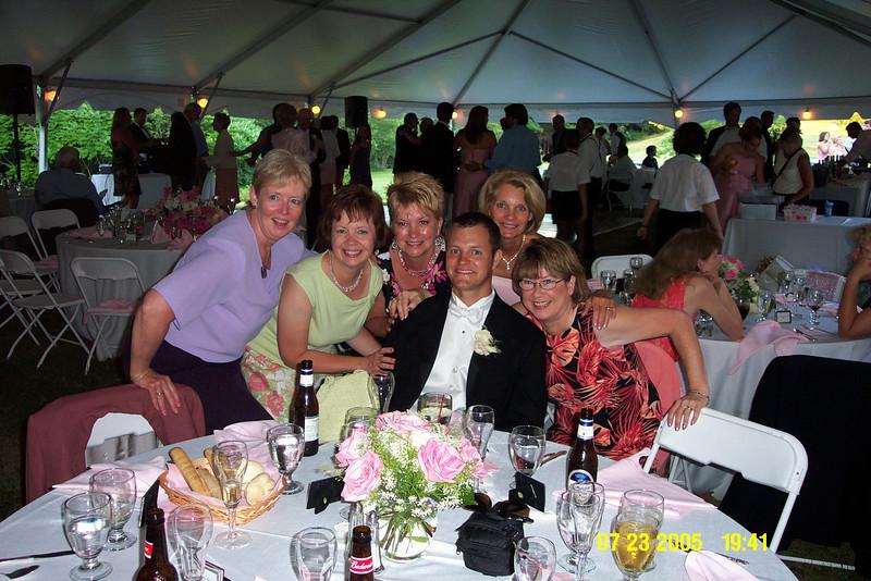 Gail Espinoza, Melody Sloan, Matt Merrill, Sue Merrill, Pat Deutsch