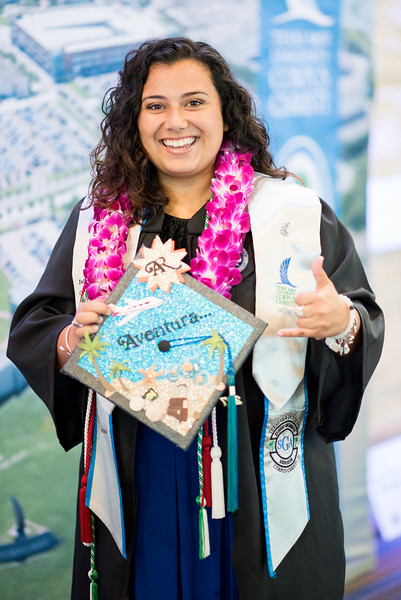 Alissa Ramirez. Over 1,100 graduates received their degrees during two commencement ceremonies held on May 13.