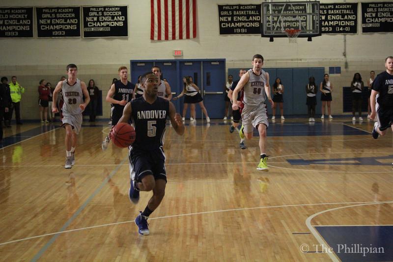 Boy's Basketball vs. Exeter 2/22 A/E