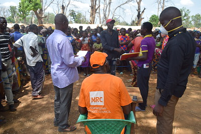 CAR NRC organizes a seed protection food fair for the displaced people of Alindao in south-eastern CAR