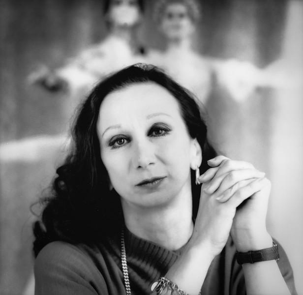 Maina Gielgud Artistic Director of the Australian Ballet  1983 to 1996.