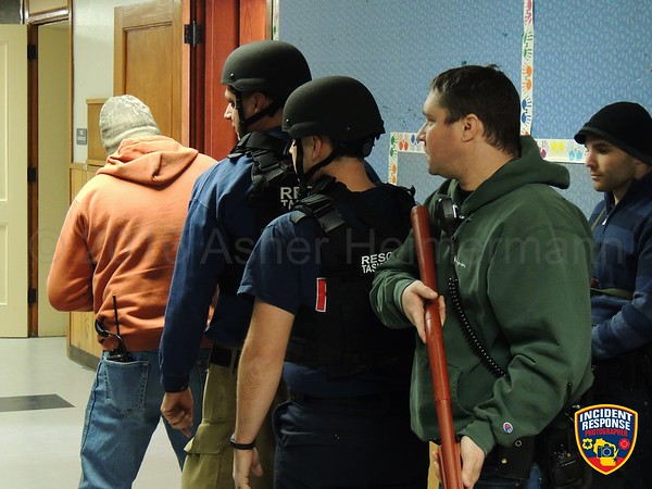 Active shooter training on January 19, 2016