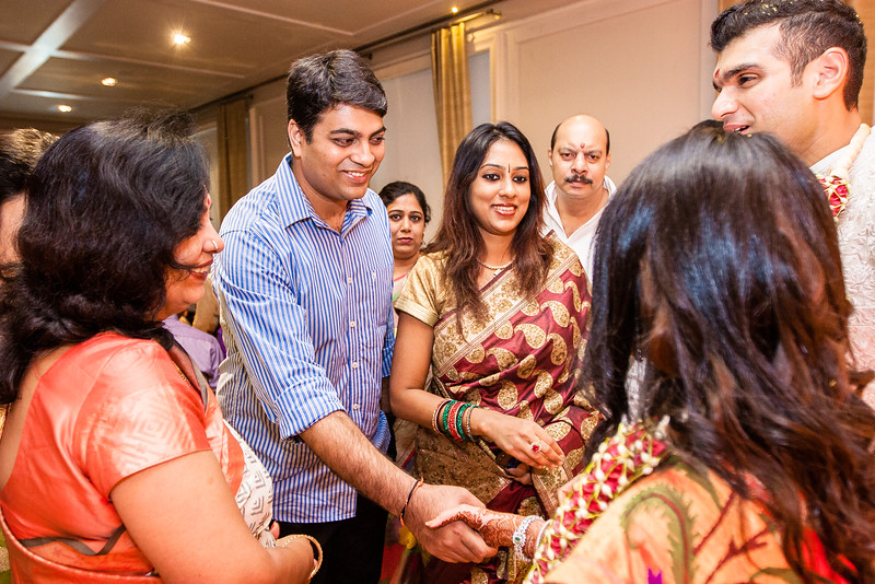 Ananya Malhotra and Anish Reddy's engagment was held at The Apartment at The Park Hyatt in Chennai on 24 December 2015. 