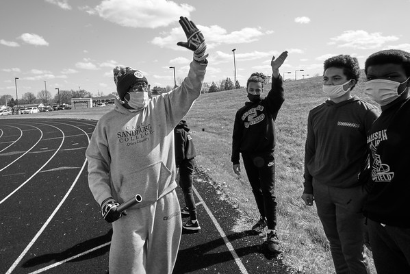 Junior High Track April 13, 2021