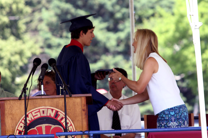 2012 Spaulding High School Graduation (Taylor and Corey)