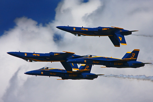 Blue Angels & Thunderbirds