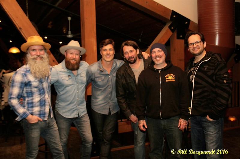 Dave, Chris, Aaron, Kevin Latto, Corbett Frasz & Rob Shapiro - Washboard Union at Blackjack's Roadhouse 109