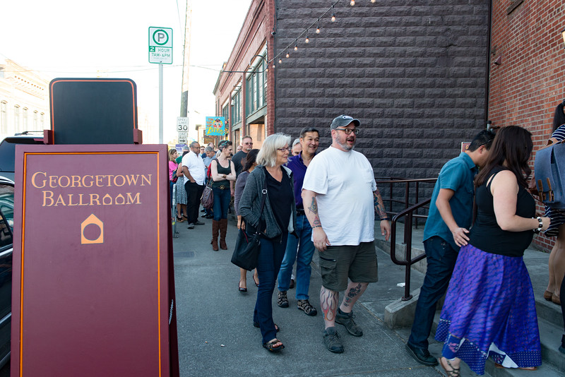 Beam Suntory Whiskey Cabana as part of Seattle Whisky Week 2017. Seattle Event Photography by AShapiro Studios
