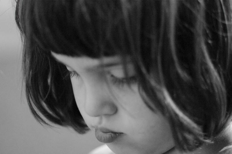 High-ISO black & white.