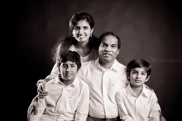 Sailaja Krishna Family