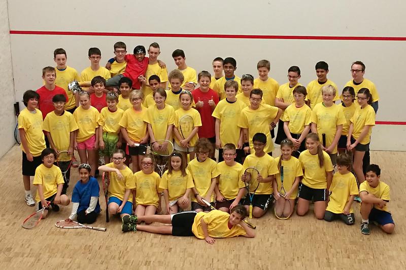 First Squash tournament
