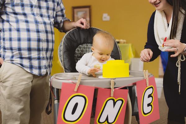 Child:  Jackson's First Birthday