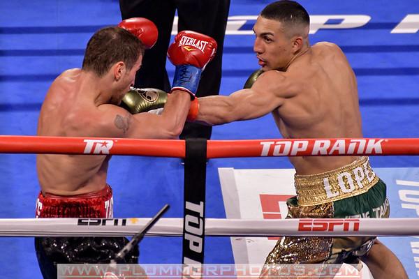 Teofimo Lopez Defeats Edis Tatli by 5th Round Knockout