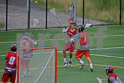 8/1/2013 - New York City vs. Long Island - David W. Murphy Field, Onondaga Community College, Syracuse, NY