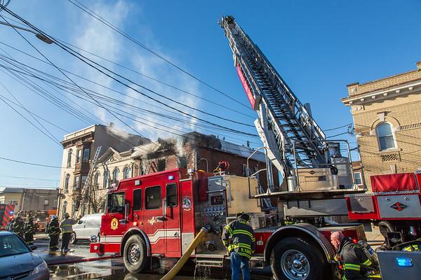 Garfield NJ 2nd alarm, 59 Harrison Ave. 01-10-21