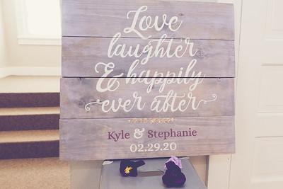 Kyle and Stephanie 2-29-2020