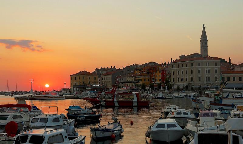 Stunning sunset over the Adriatic Sea! - Rovinj