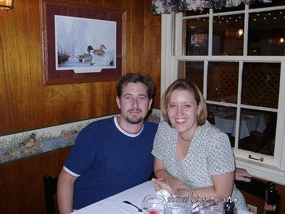 Rob & Kirsten's 1st Anniversary: Dinner at Andrias [Edwardsville]
